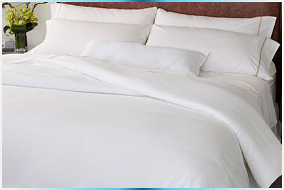 Bedspreads, comforters, bedskirts, Blankets, table cloths, napkins Bed linens and sheets, cushions covers Duvet covers
